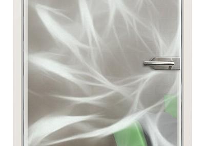 """Lasergravur """"FlowerAbstract"""""""