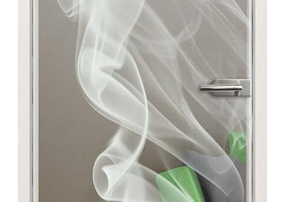 """Lasergravur """"Smoke"""""""