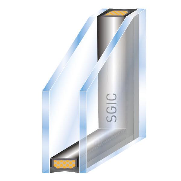 ISO Glas 2-fach