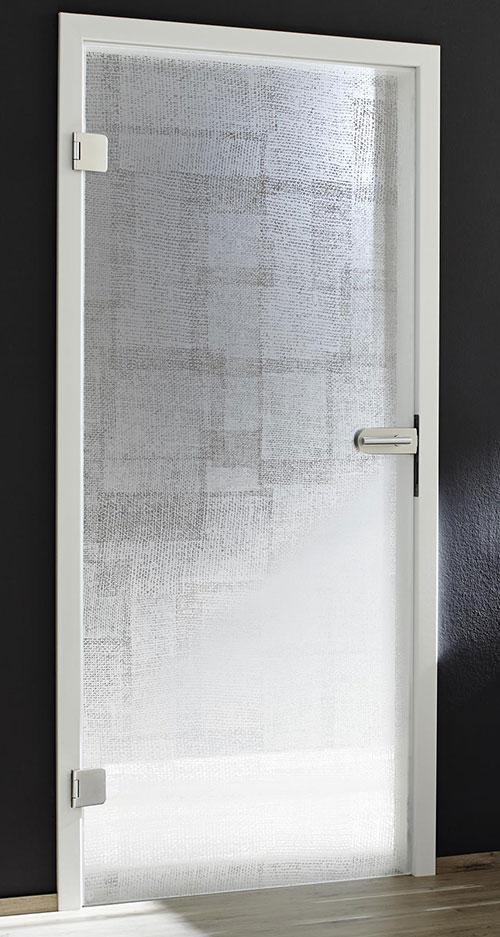 Ganzglastür Designglas - Omnidecor Fabric