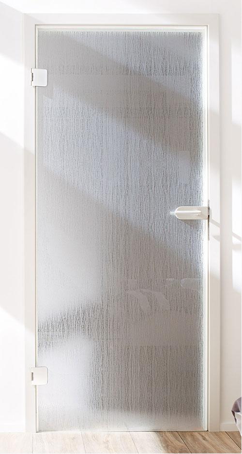 Ganzglastür Designglas - Omnidecor Fuzzy
