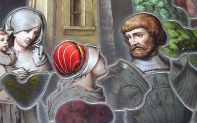 Schloss in Unterfranken – Restaurierung Bleiverglasungen